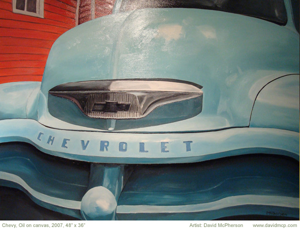 Chevy, David McPherson