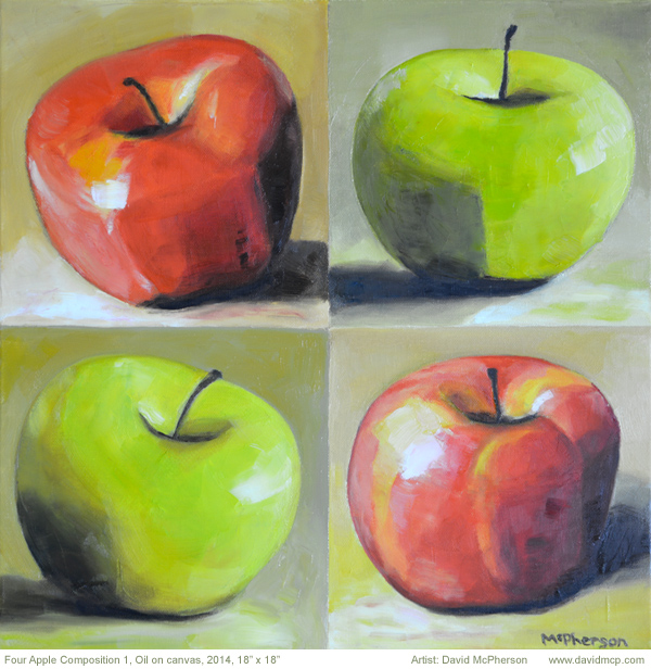Four Apple Composition, David McPherson