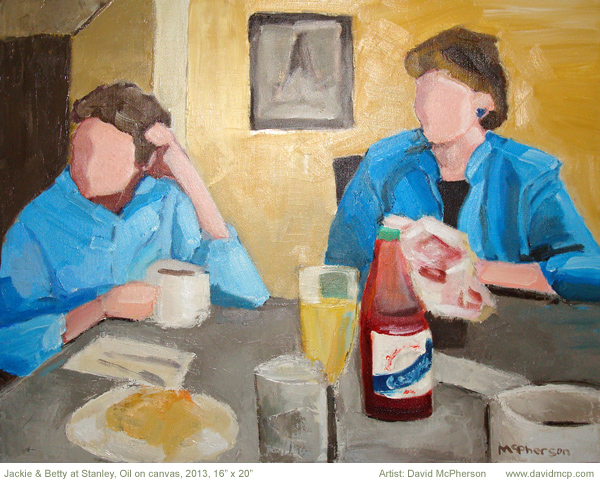 Jackie and Betty at Stanley, David McPherson
