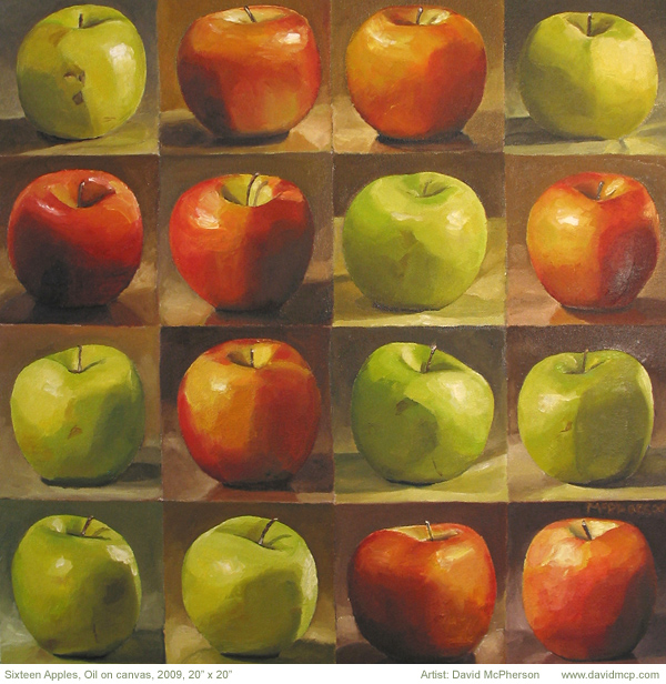 Sixteen Apples, David McPherson